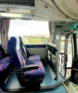 高速バスの予約した座席2の写真・画像素材[4625615]