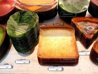 食べ物モチーフの食器の写真・画像素材[4674416]