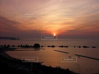 串本の夜明けの写真・画像素材[4629731]