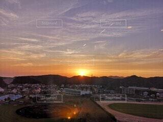 日の出の写真・画像素材[4629736]