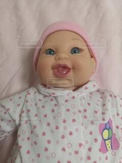赤ちゃん人形の写真・画像素材[4740802]