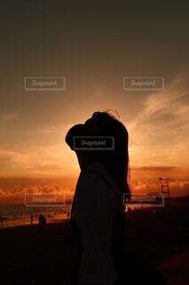 夕焼けの写真・画像素材[4679879]