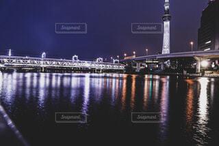 夜景の写真・画像素材[4722287]