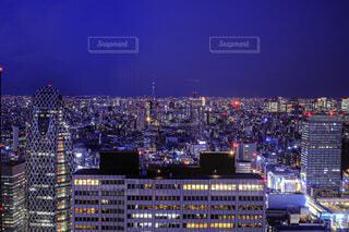 夜の街の写真・画像素材[4722324]