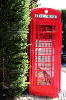 赤い電話 伝説の写真・画像素材[1092105]