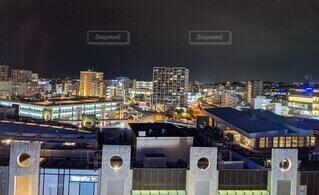 夜の景色の写真・画像素材[4828893]