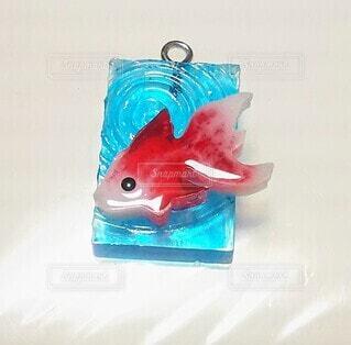 レジンの金魚の写真・画像素材[4636042]