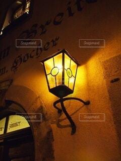 ドイツの街路灯の写真・画像素材[4677543]