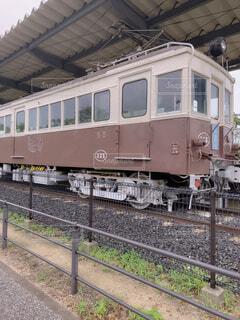 レトロ電車の写真・画像素材[4717344]