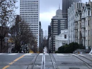 サンフランシスコの坂の写真・画像素材[4626674]