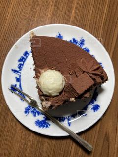 チョコレートケーキの写真・画像素材[4652226]