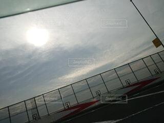 空と太陽の写真・画像素材[4632003]