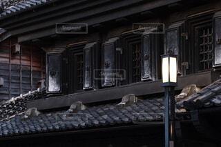古い建物をクローズアップの写真・画像素材[4664678]