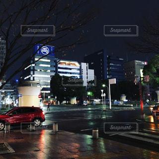 夜の街の写真・画像素材[1712100]