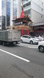 祇園祭りの山鉾巡行の写真・画像素材[4656238]