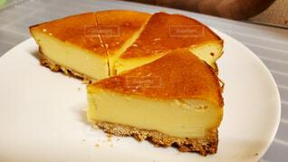 手作りチーズケーキの写真・画像素材[4647340]