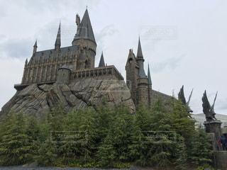 ホグワーツ城の写真・画像素材[1194940]