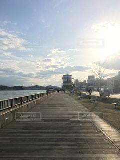尾道の夕暮れの写真・画像素材[1198776]