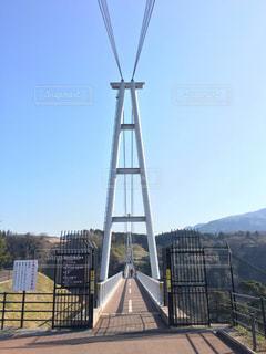 日本一の吊り橋の写真・画像素材[1200587]