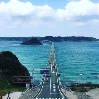 角島大橋の写真・画像素材[1201836]