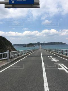 角島大橋の写真・画像素材[1201840]