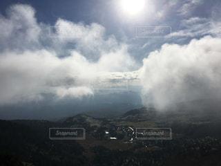 高原からの雲海?の写真・画像素材[1206424]