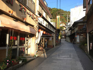渋温泉街の写真・画像素材[1206425]