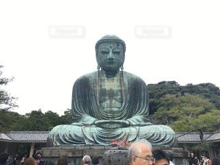 鎌倉の大仏の写真・画像素材[1209169]