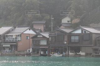 伊根の舟屋の写真・画像素材[1214614]
