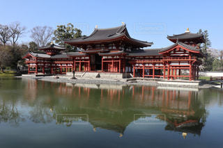 平等院鳳凰堂の写真・画像素材[1214623]
