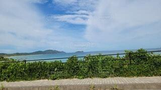 空と海の写真・画像素材[4668237]