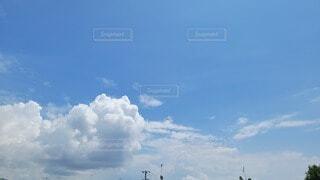 空の雲の写真・画像素材[4687972]