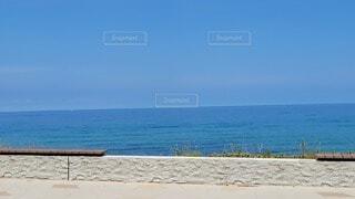 海の隣の砂浜の写真・画像素材[4687977]