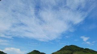 空の雲の群の写真・画像素材[4687978]