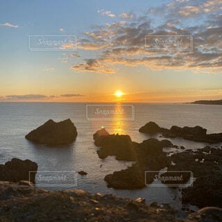 日の出の写真・画像素材[4651670]