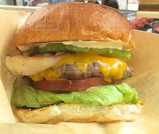 ハンバーガーの写真・画像素材[206770]
