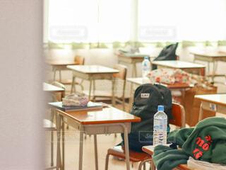 放課後の誰もいない教室の写真・画像素材[4661837]