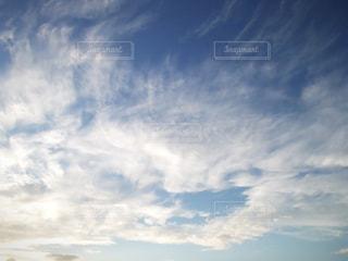 流れる雲の写真・画像素材[213560]