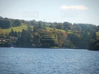 イギリスの湖の写真・画像素材[213574]