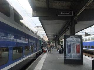 フランスの駅ホームの写真・画像素材[1783184]