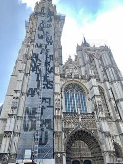 ベルギーのノートルダム大聖堂の写真・画像素材[2134736]