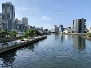 運河の写真・画像素材[4653640]