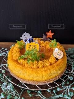かぼちゃケーキの写真・画像素材[4911595]