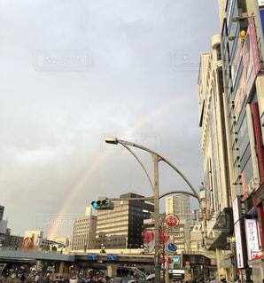 上野の虹の写真・画像素材[4656316]