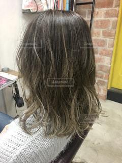New hairの写真・画像素材[990760]