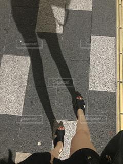 影の写真・画像素材[1402646]