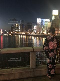 中洲とわたしの写真・画像素材[1402651]