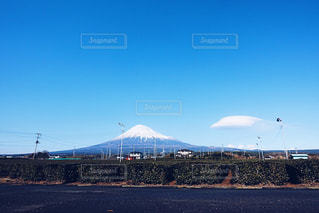 富士山がきれいに見えたの写真・画像素材[1756983]