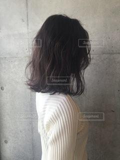 New hairの写真・画像素材[2145698]
