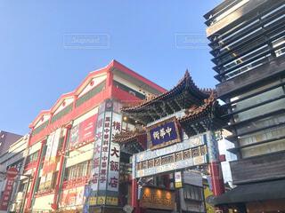 中華街の写真・画像素材[4661927]